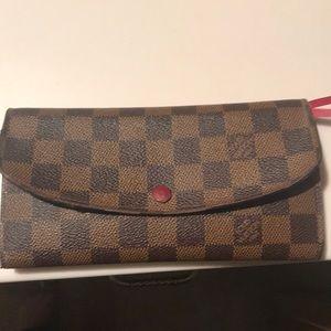 Louis Vuitton Paris Emilie style wallet